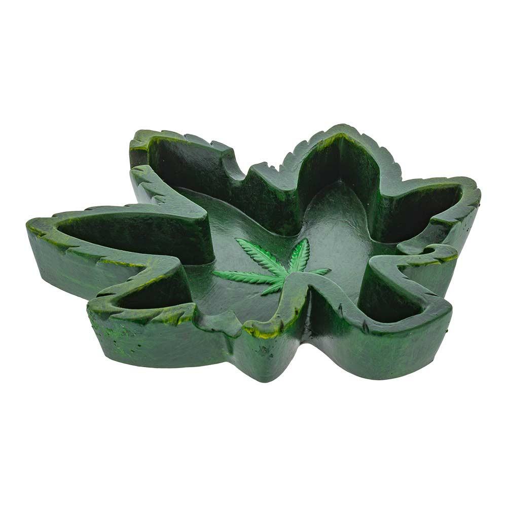 Leaf-Shaped Ashtray