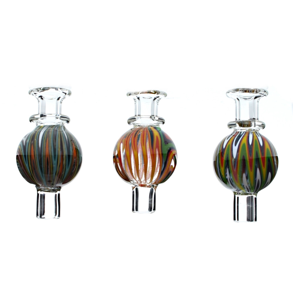 Glass Bubble Airflow Carb Cap with Wig Wag Reversal Design