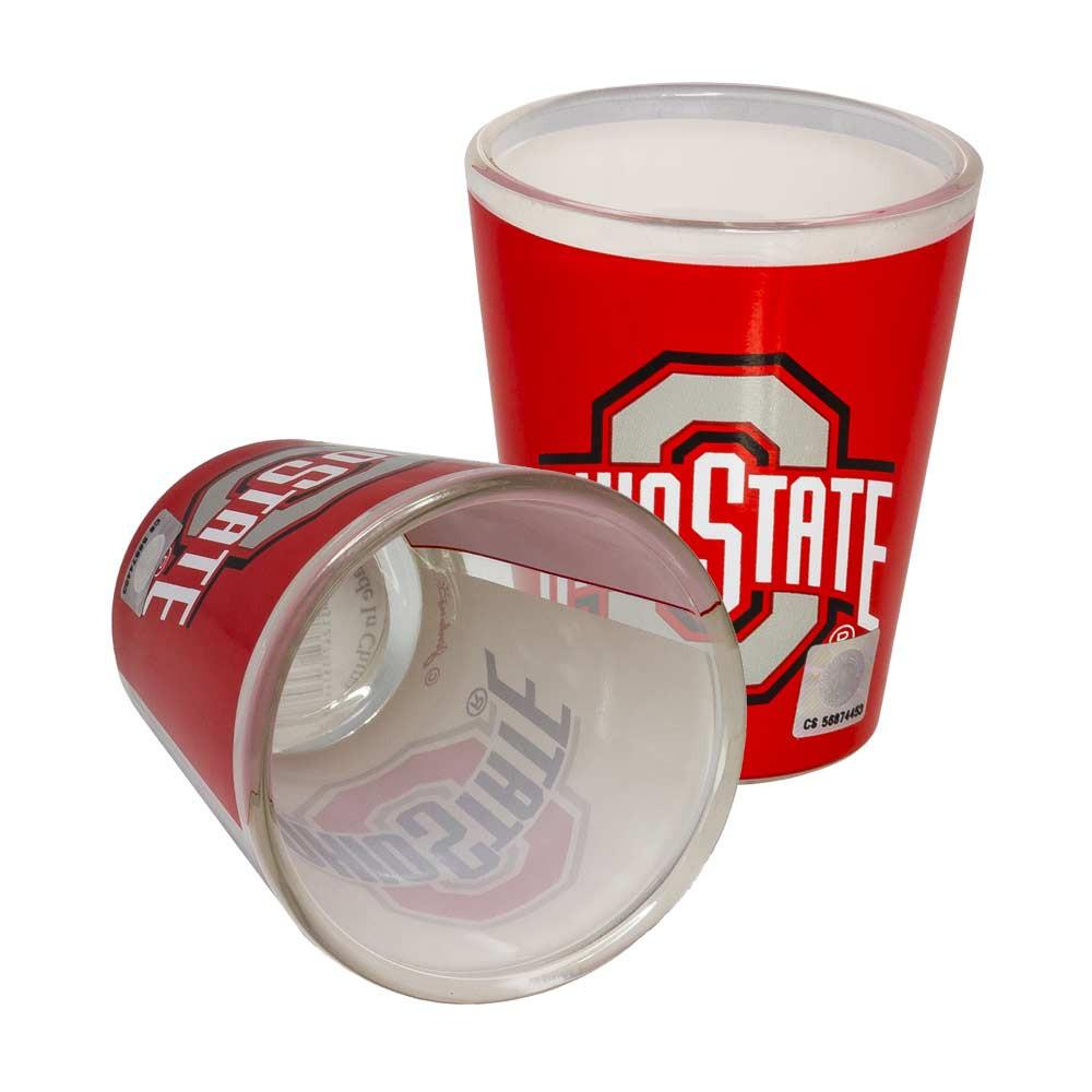 Ohio State Two Tone Shot Glass