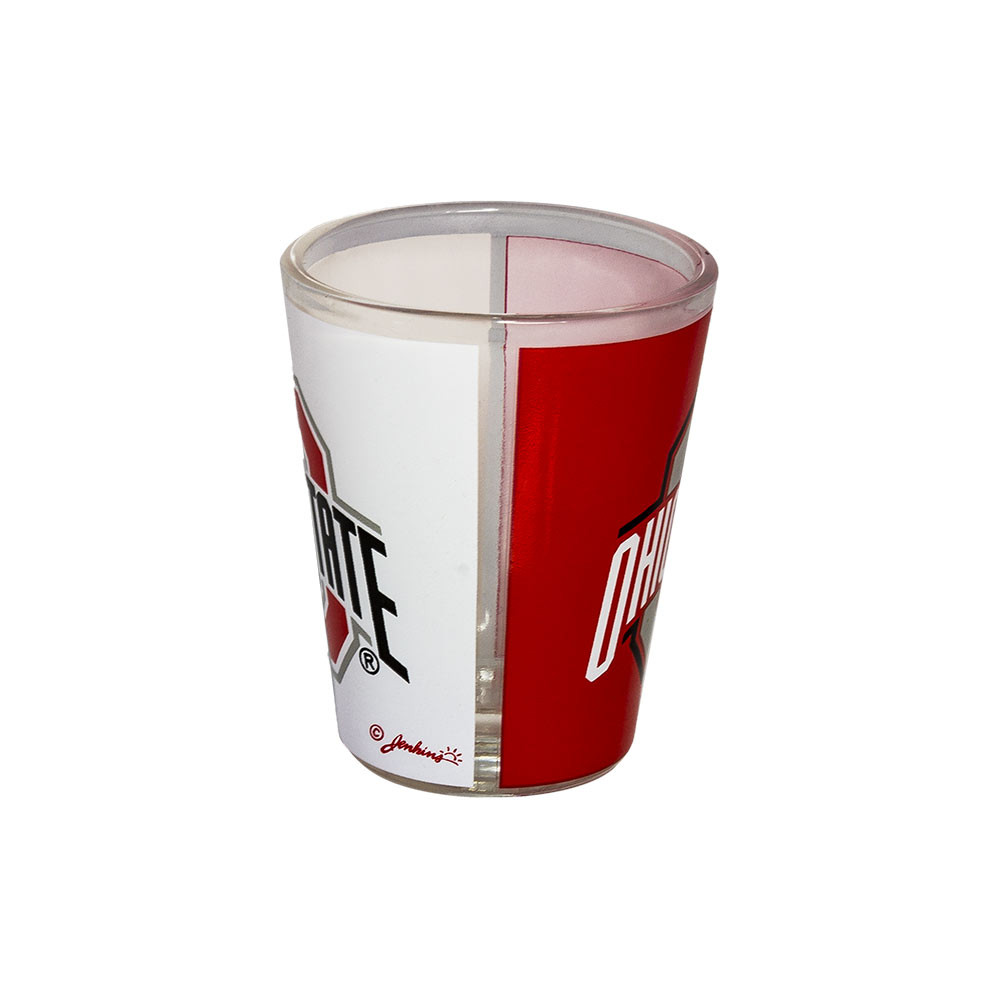 Ohio State Two Tone Shot Glass