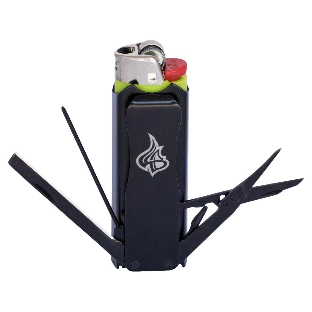 Lighter Bro Multi-Tool Lighter Sleeve black color