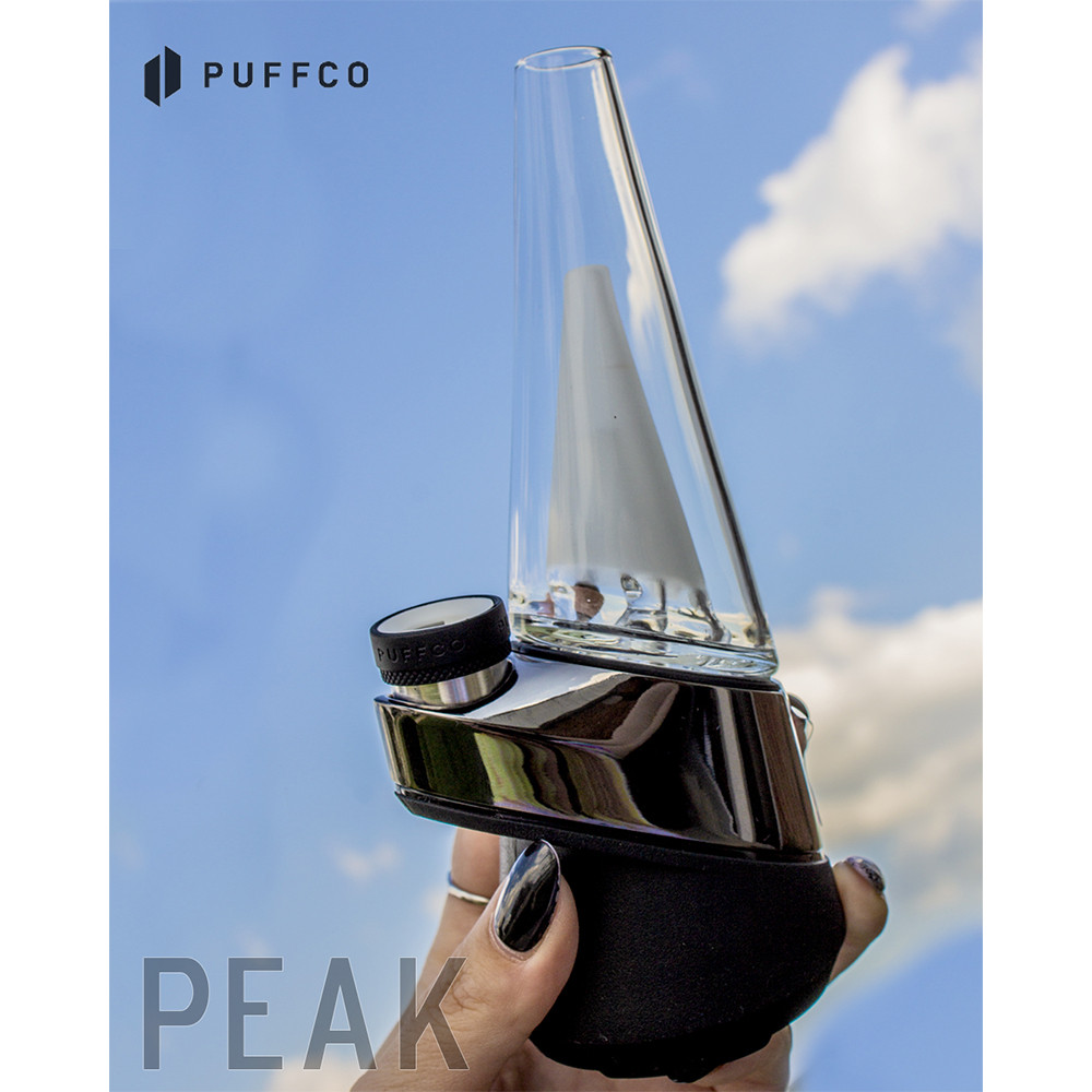 Puffco Peak Concentrate & Wax Vaporizer Kit hand size