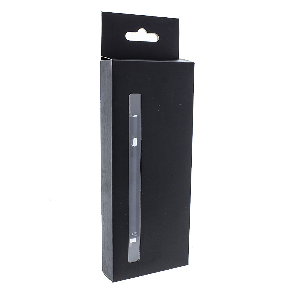 Black 510 thread 650 MAH battery and charger kit for vaping pre-filled cartridges.