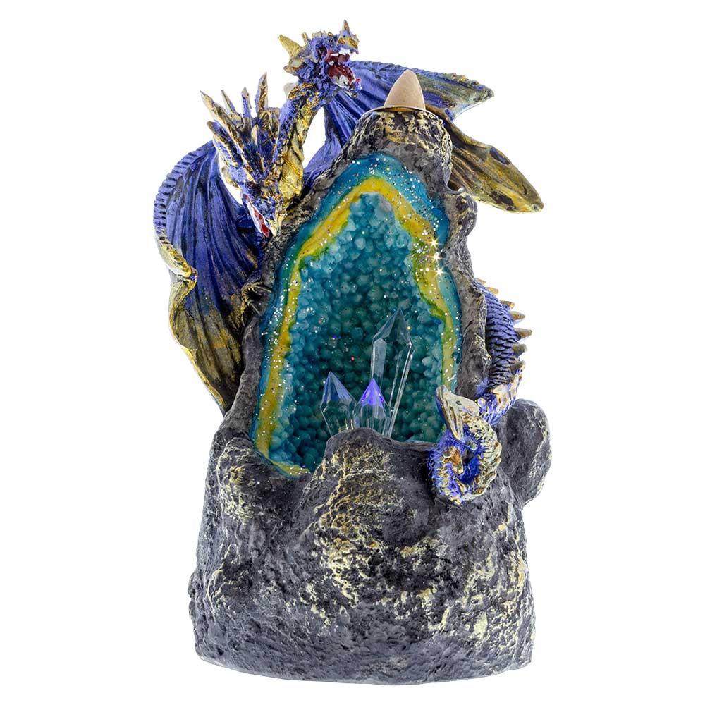Buy Dragon Crystal Geode Backflow Burner