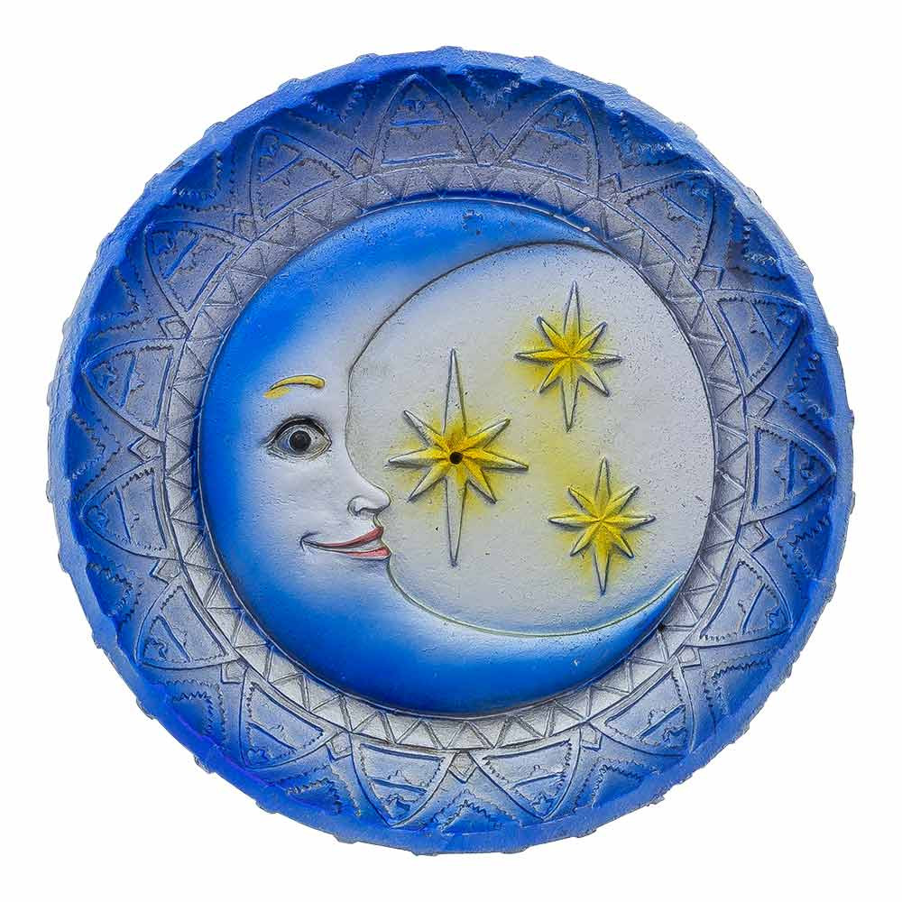 Moon & Stars Round Incense Burner