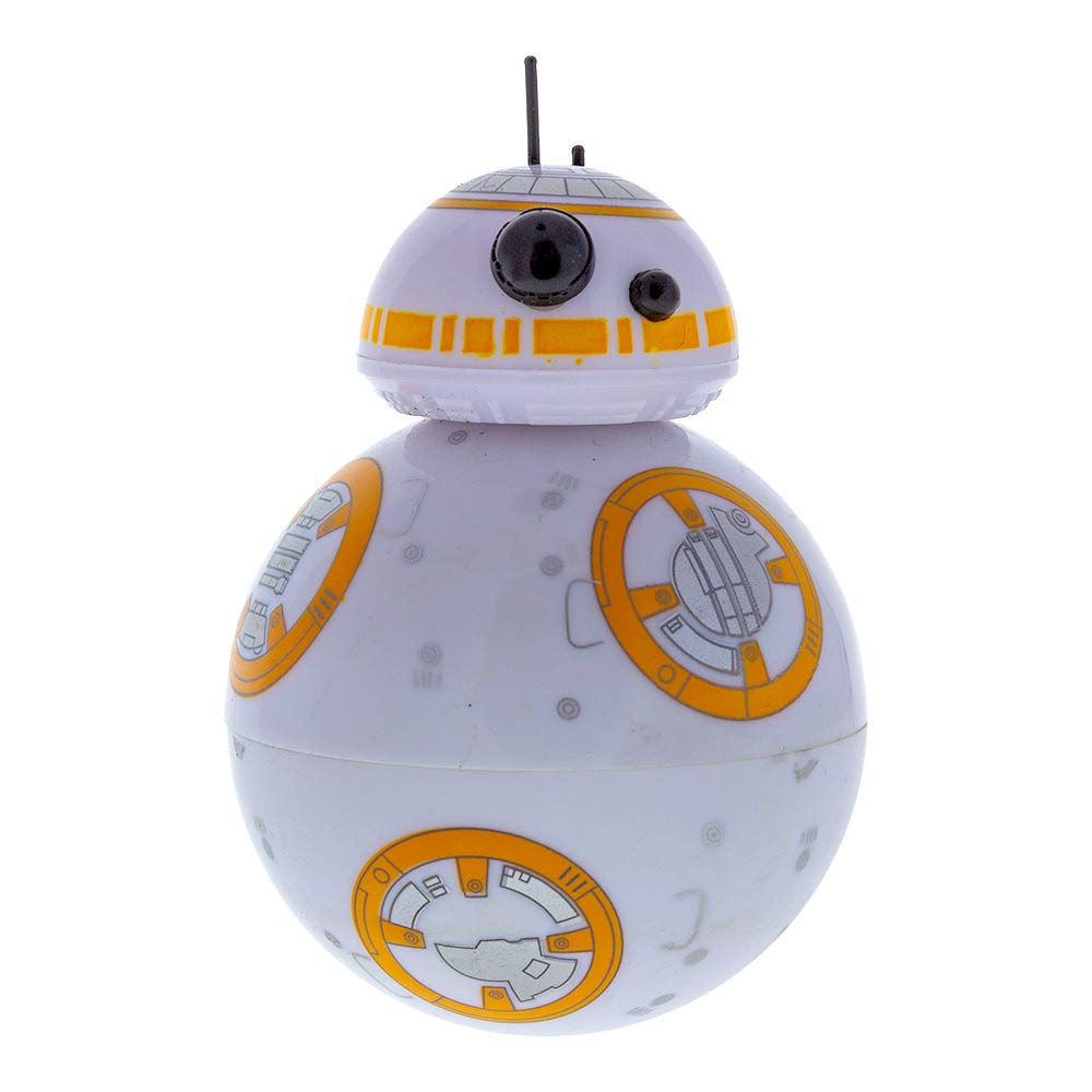 "BB8 Grinder 2.5"" tall and hardly 2"" wide."