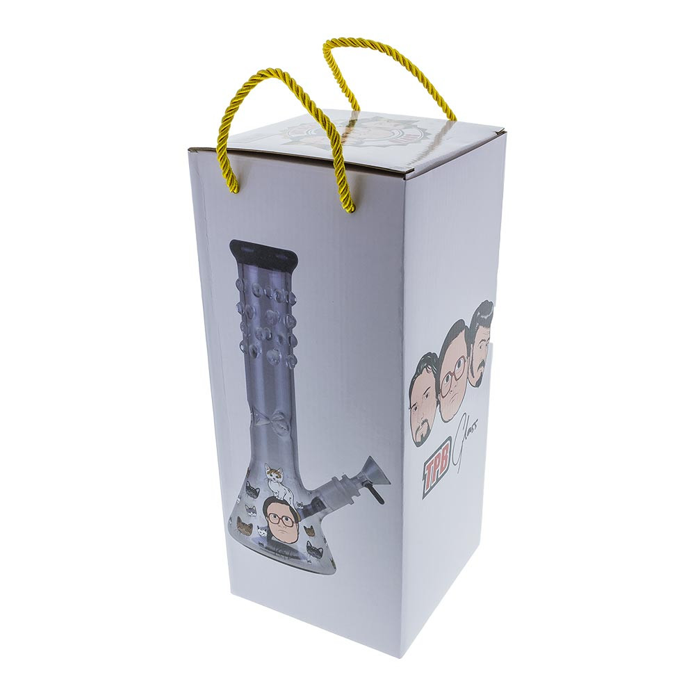Each Kitty Love glass pipe comes safely wrapped inside of a fun gift box.
