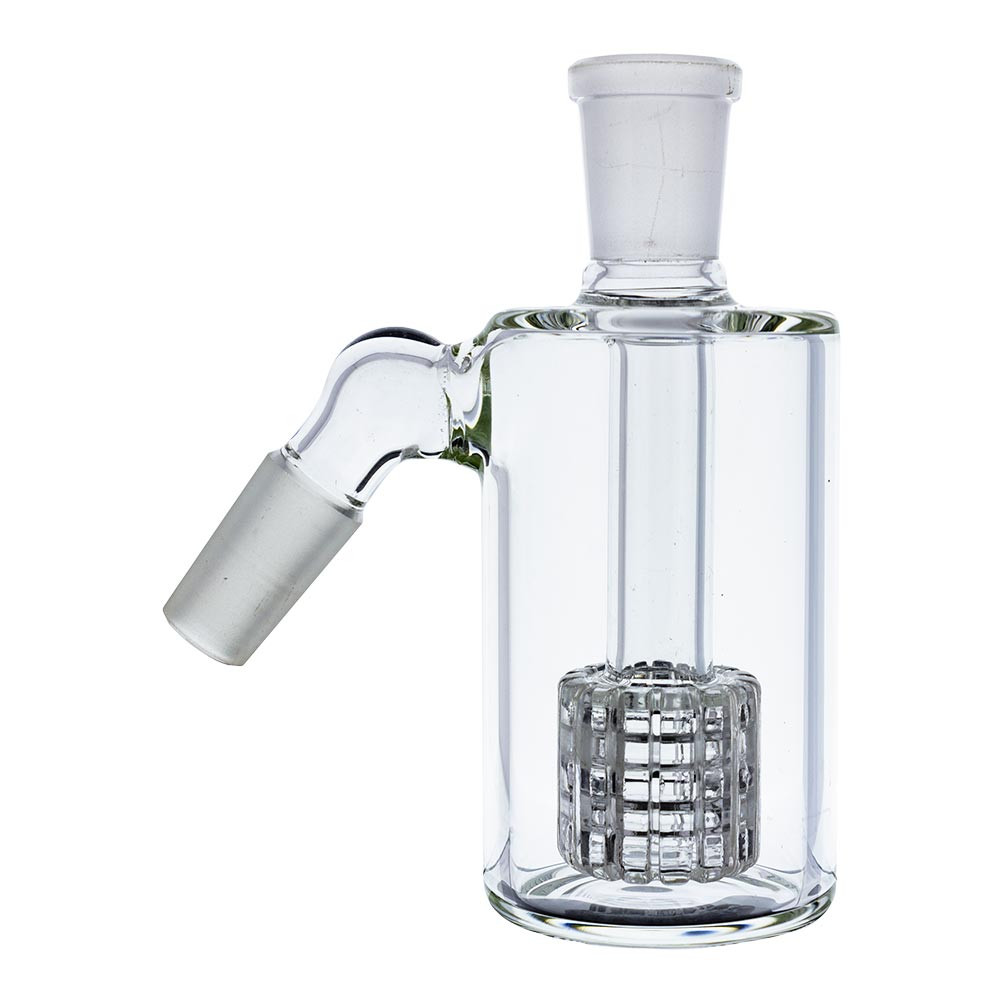 Buy 14mm Barrel Perc Ashcatcher, 45 Degree for sale