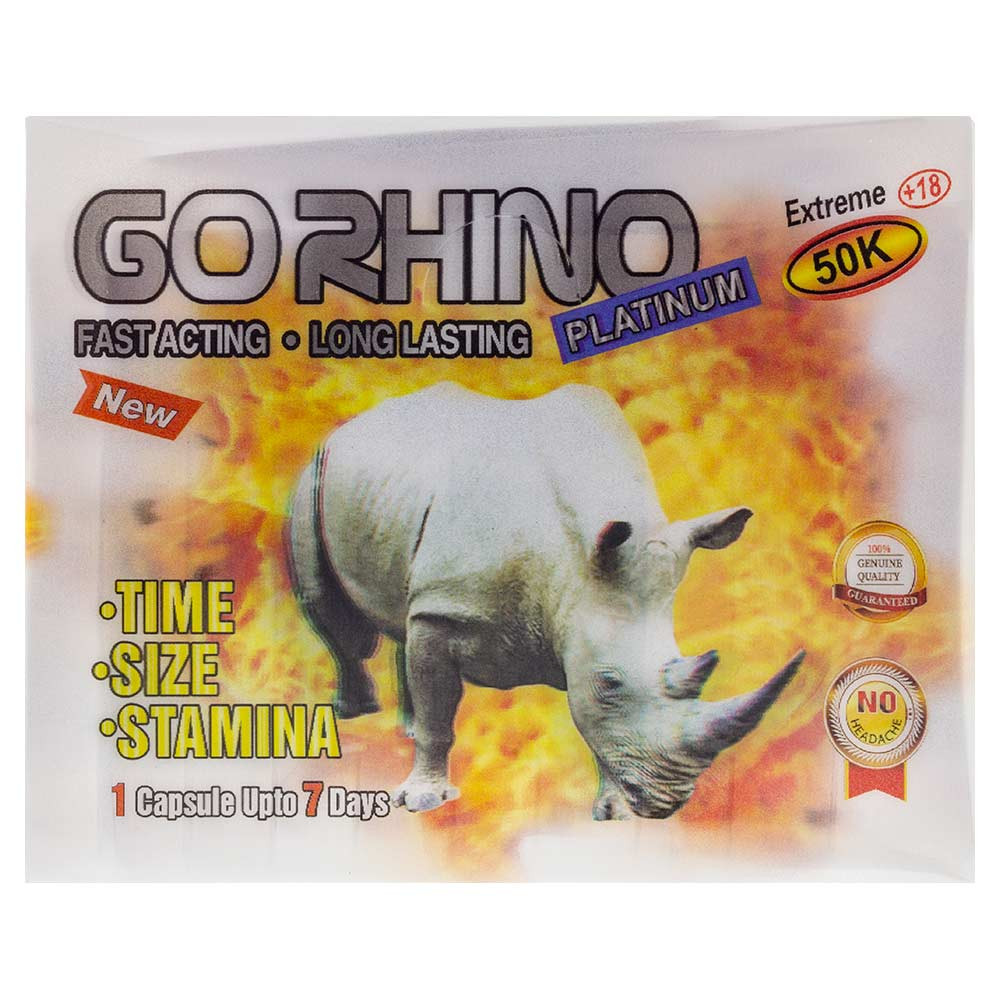 Rhino Platinum 50K wholesale