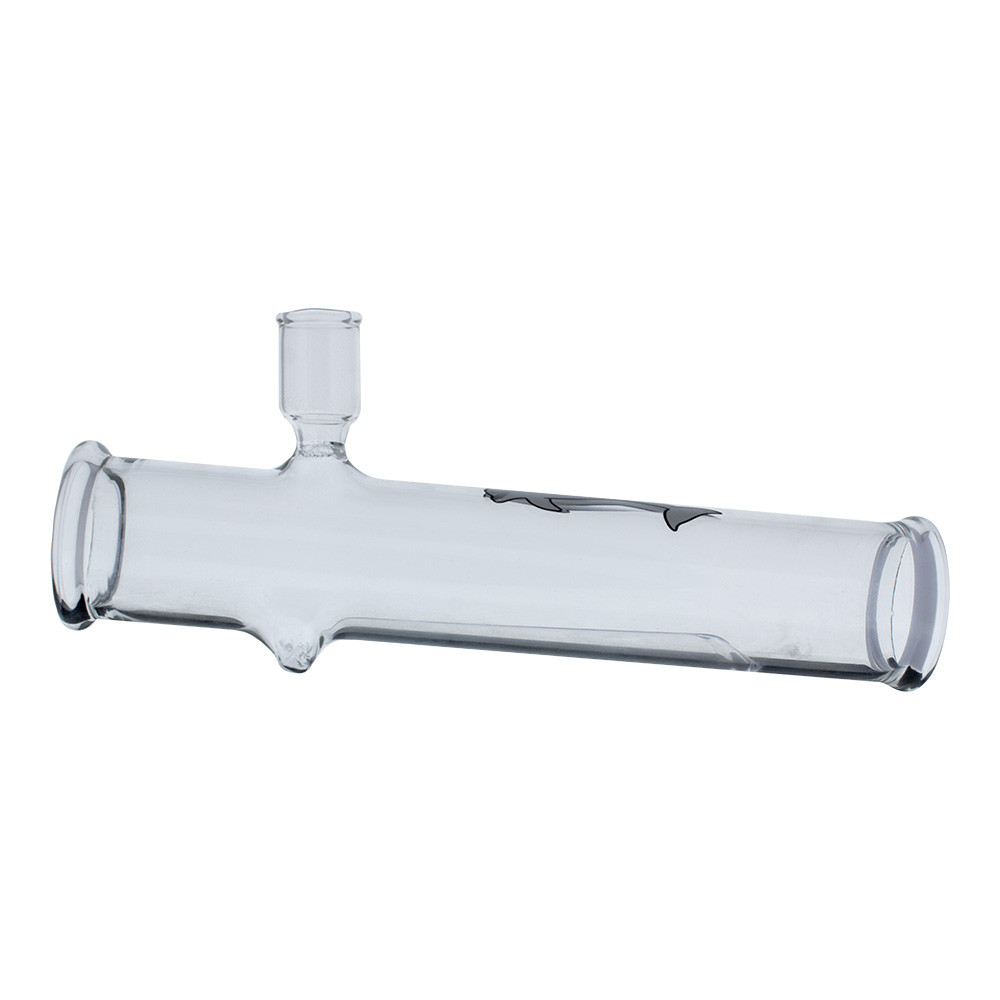 """7.5"""" Glass Graphic Steamroller Pipe"""