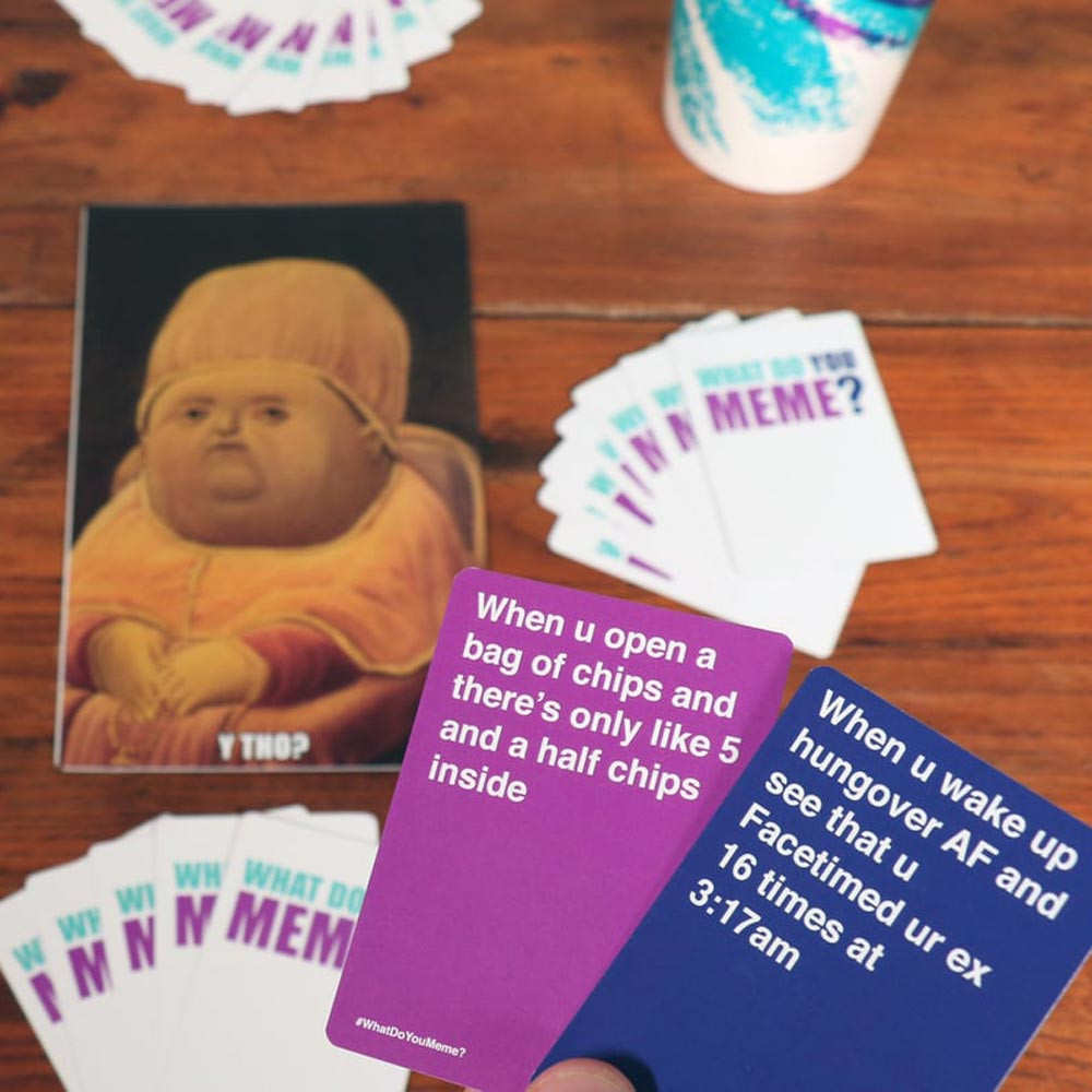 Buy What Do You Meme? Adult Party Card Game