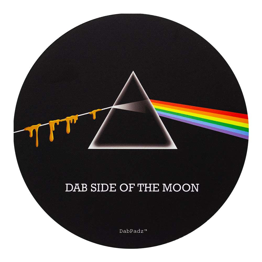 Pink Floyd Dark Side of the Moon Round Dab Pads & Mats
