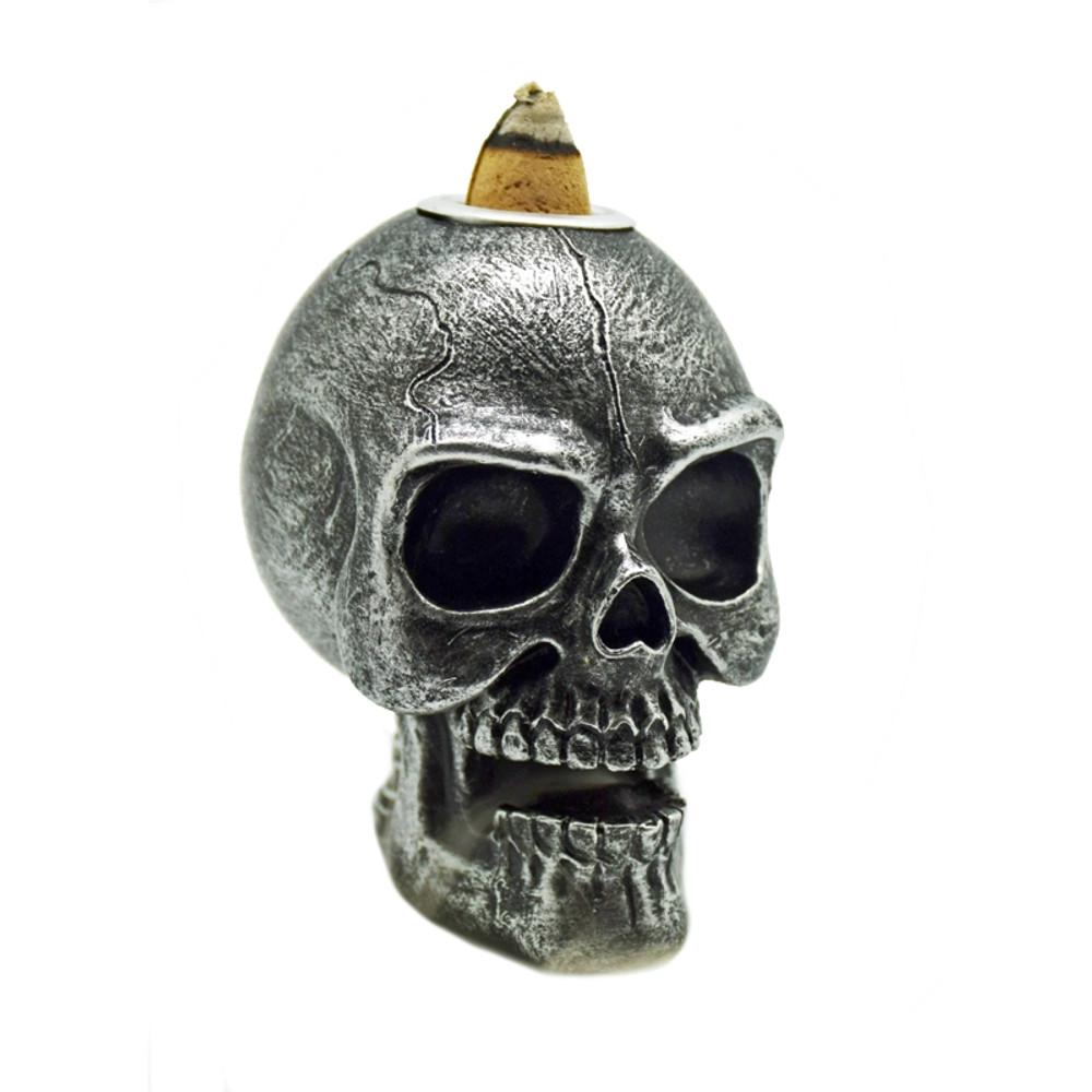 Skull Backflow Incense Burner