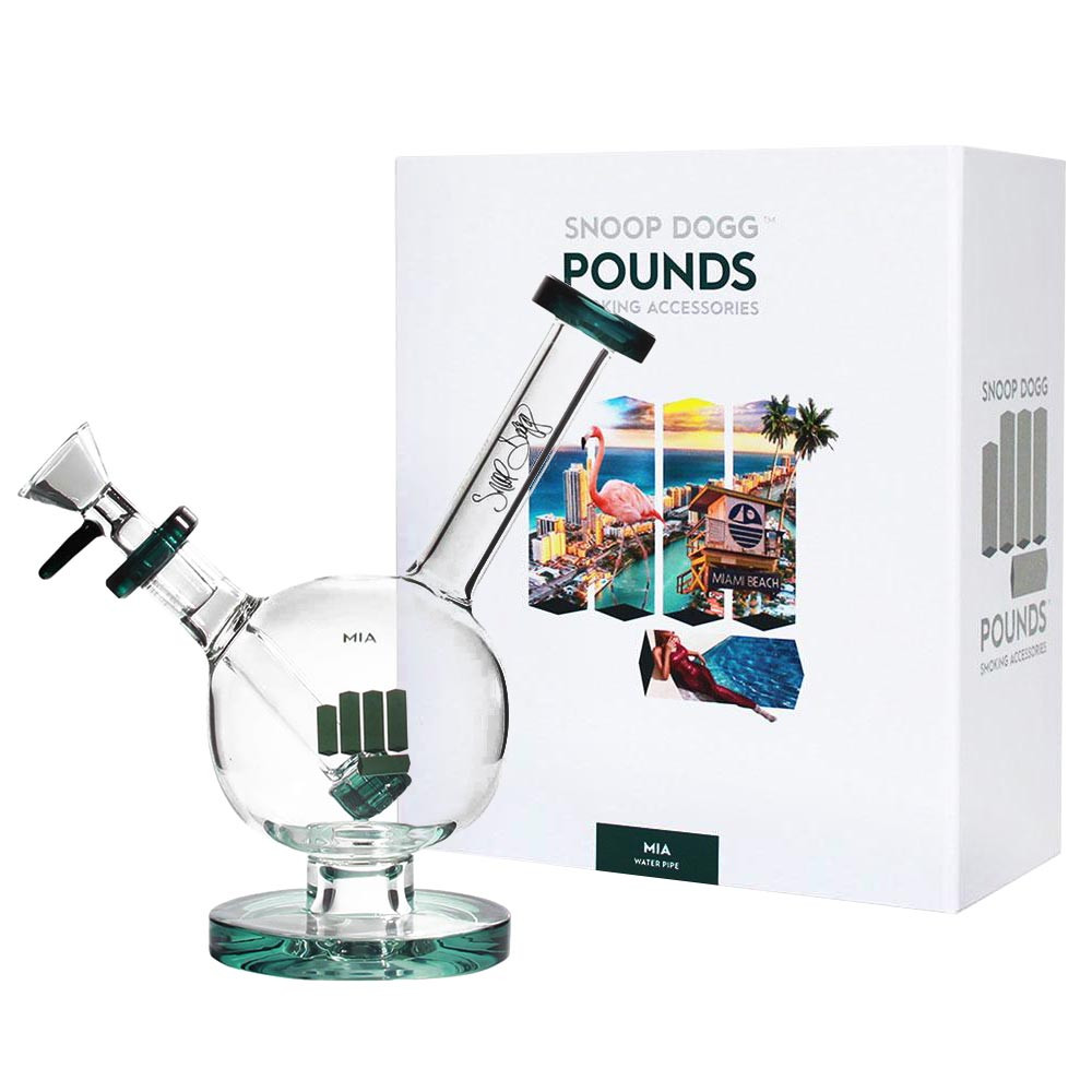 POUNDS by Snoop Dogg MIA Water Pipe  water bong