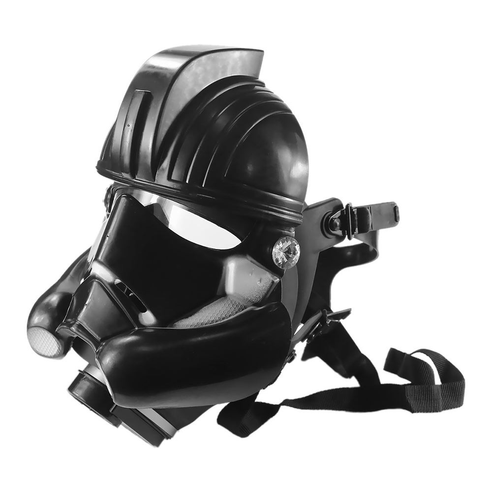 Stormtrooper Gas Mask with Skull Tube