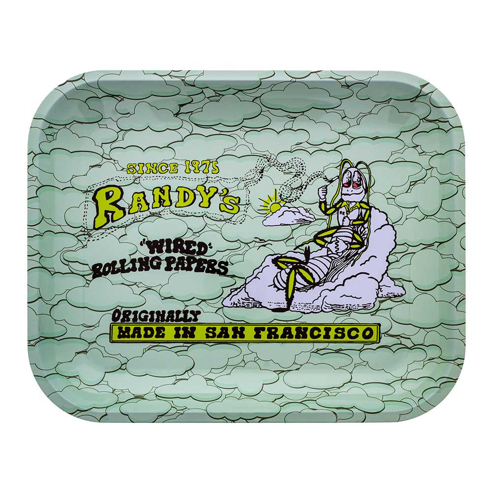 Randy's Vintage Rolling Tray, Large, top view.