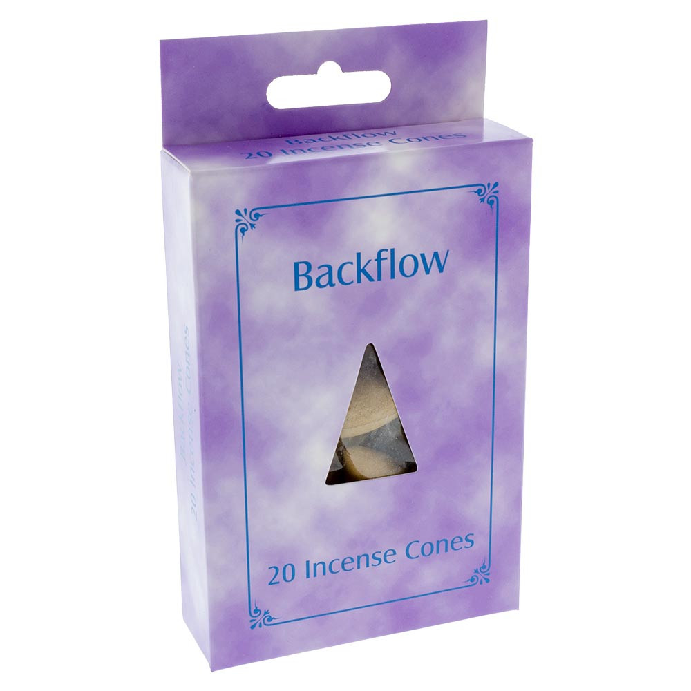 Each order of these Backflow Incense Cones come bagged and in a box.