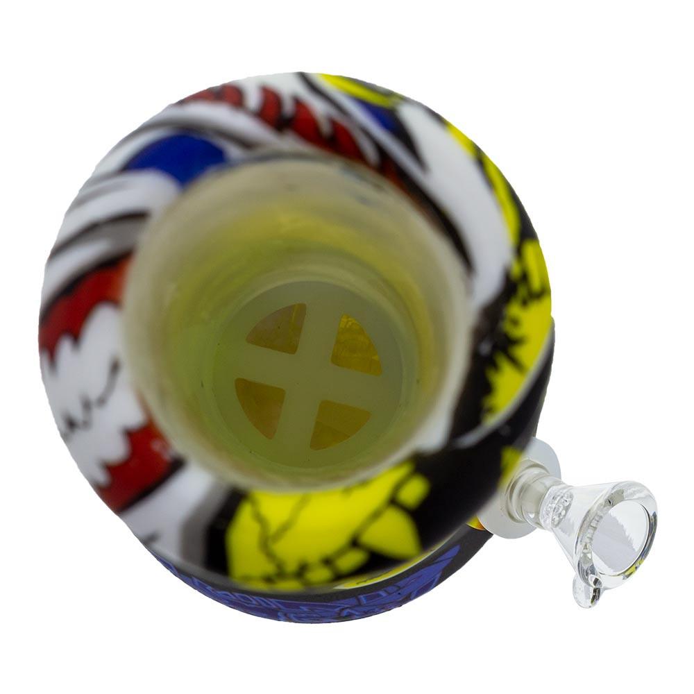 "12"" Graphic Silicone Beaker Tube"