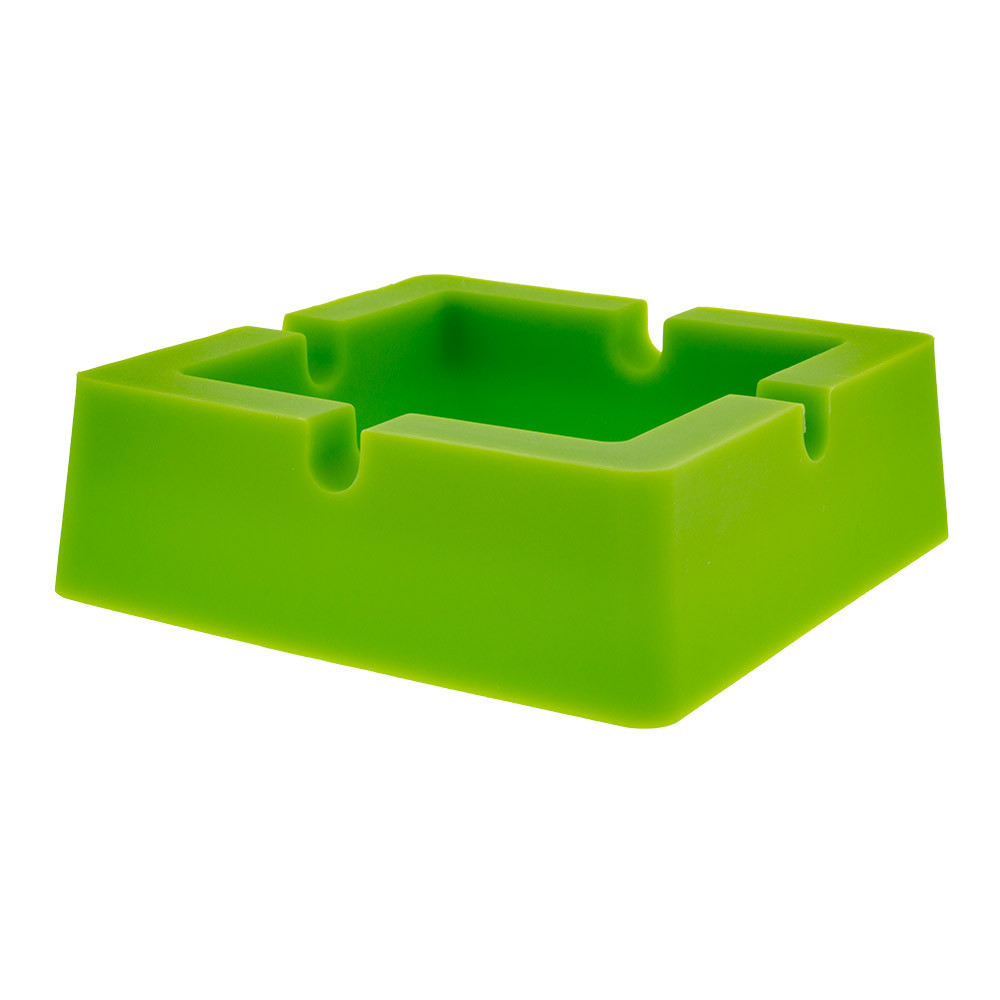 Silicone Square Ashtray cool ashtray for stoners