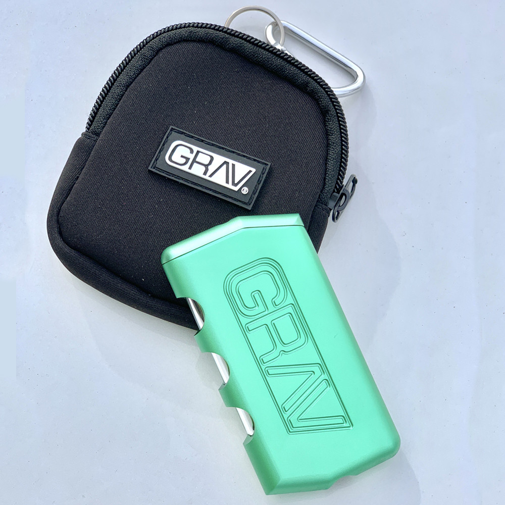 Grav Aluminum Dugout Smoke System Dugout and Case