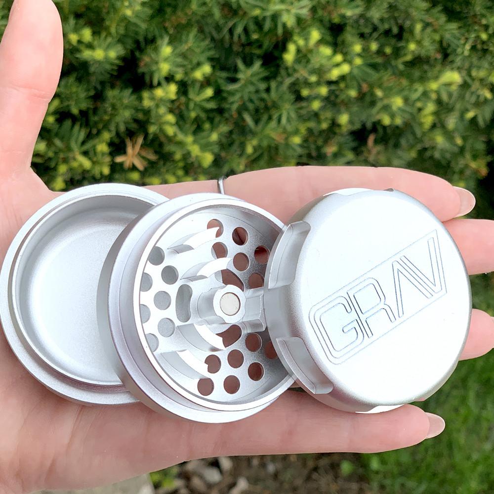 "Grav Aluminum 2.25"" 3-Piece Grinder"