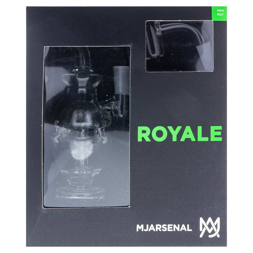 MJ Arsenal's Royale Mini Rig, individually packaged.