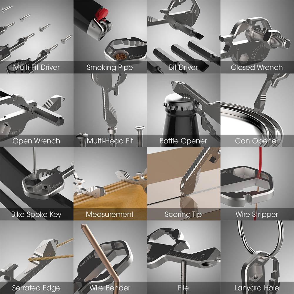 Geekey Multi-Tool Pipe wholesale