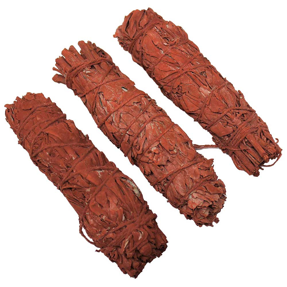 "Dragon's Blood Sage 4"" Bundle, 3-Pack wholesale"