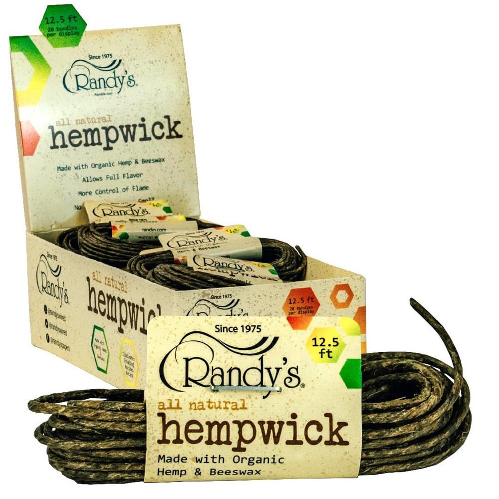 Randy's 12.5' Hemp Wick Bundle