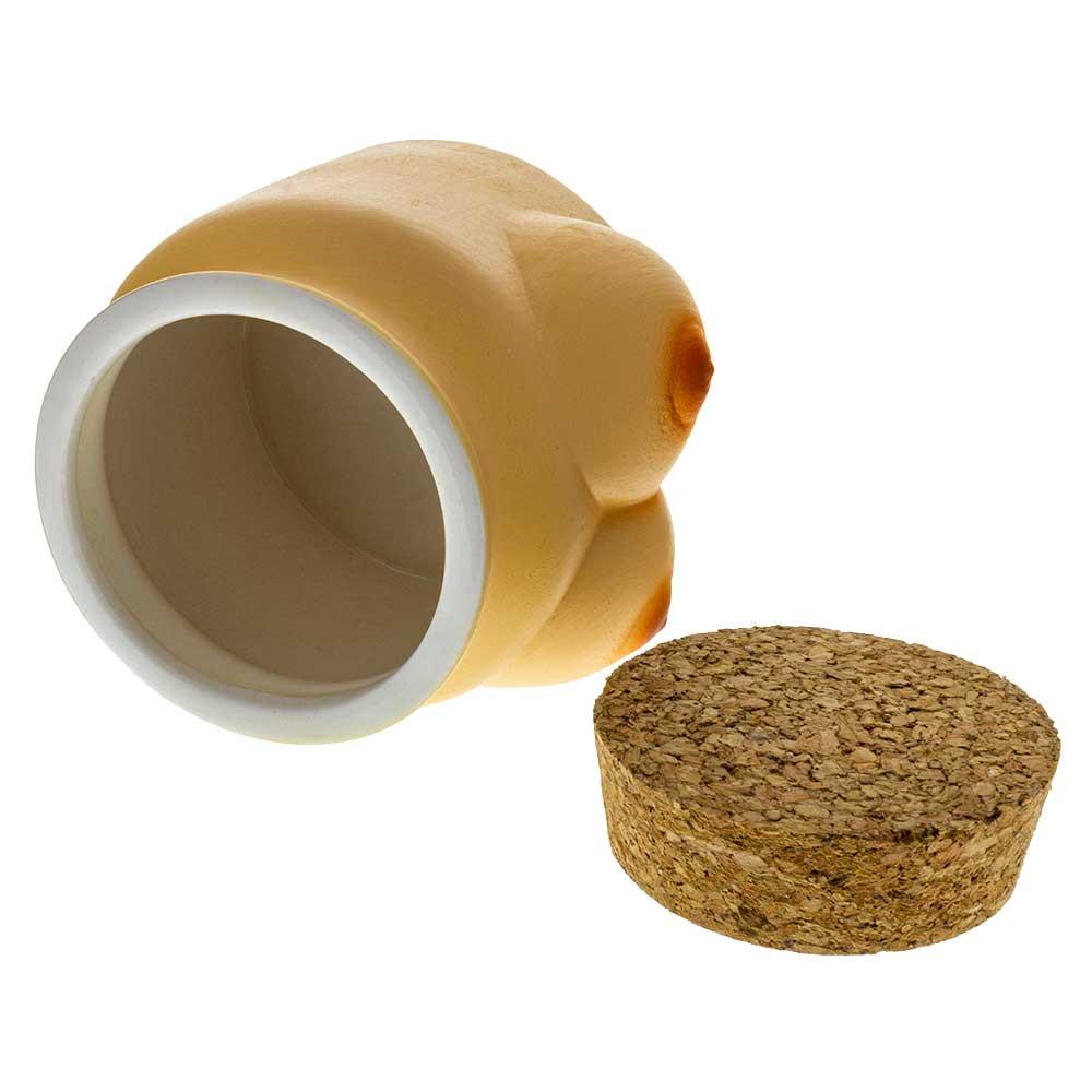 Ceramic Boobs Stash Jar for sale