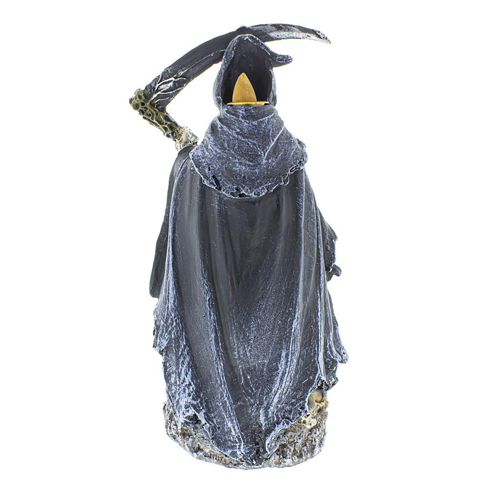 Tall Grim Reaper Backflow Burner backside image