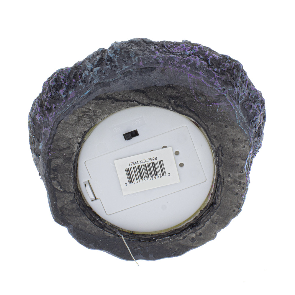 Baby Dragon Geode Backflow Burner bottom