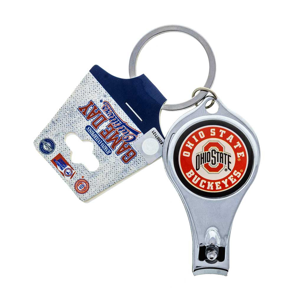 Ohio State Multi-Function Nail Clipper Key Ring