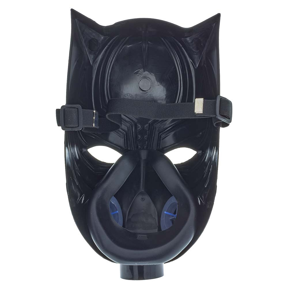 Black Panther Gas Mask with Tube
