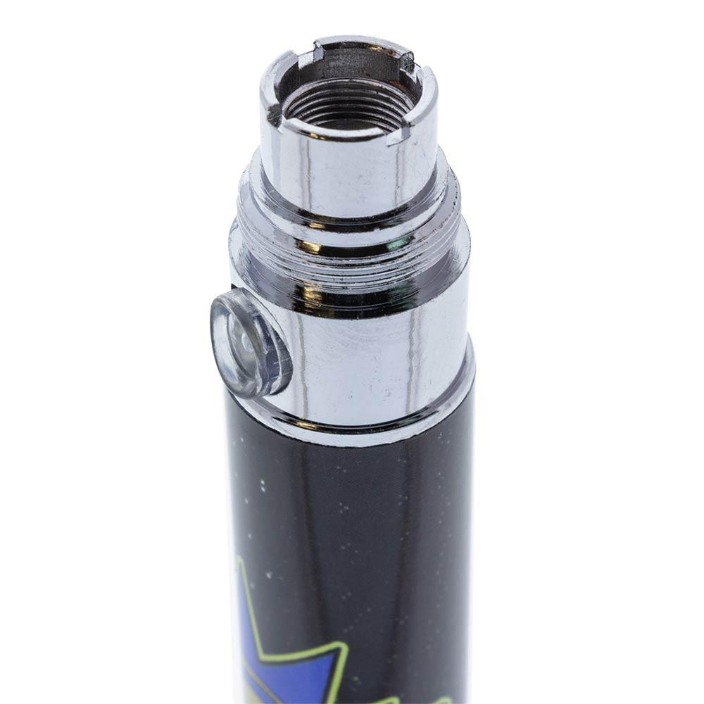 Cartoon Pen Mod Battery top threading view.