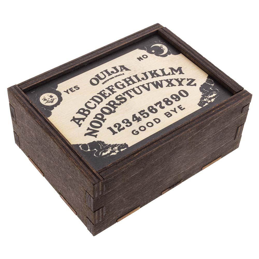 Quarter view of this stash box.