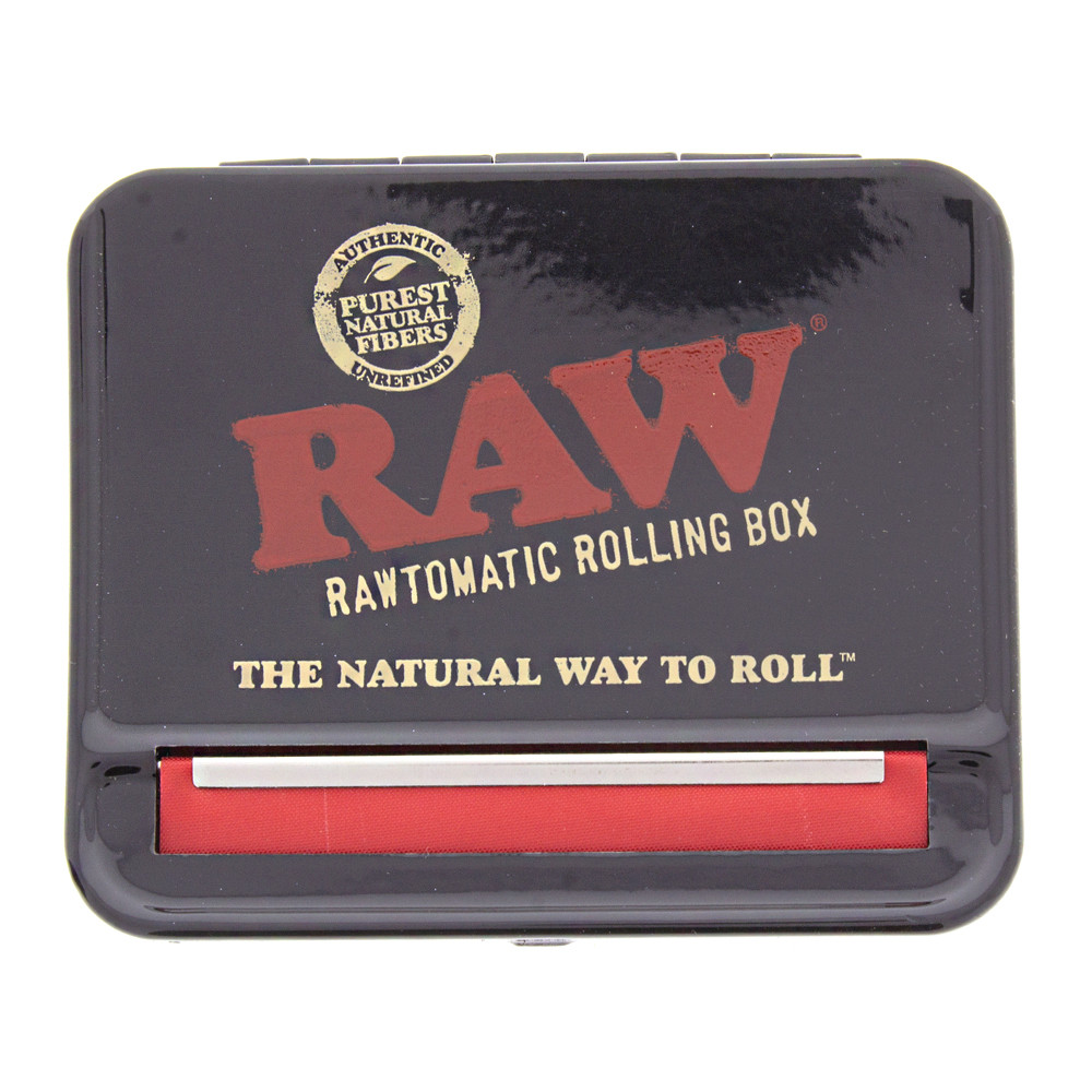 Front view of the Raw auto roll box for 70mm papers.