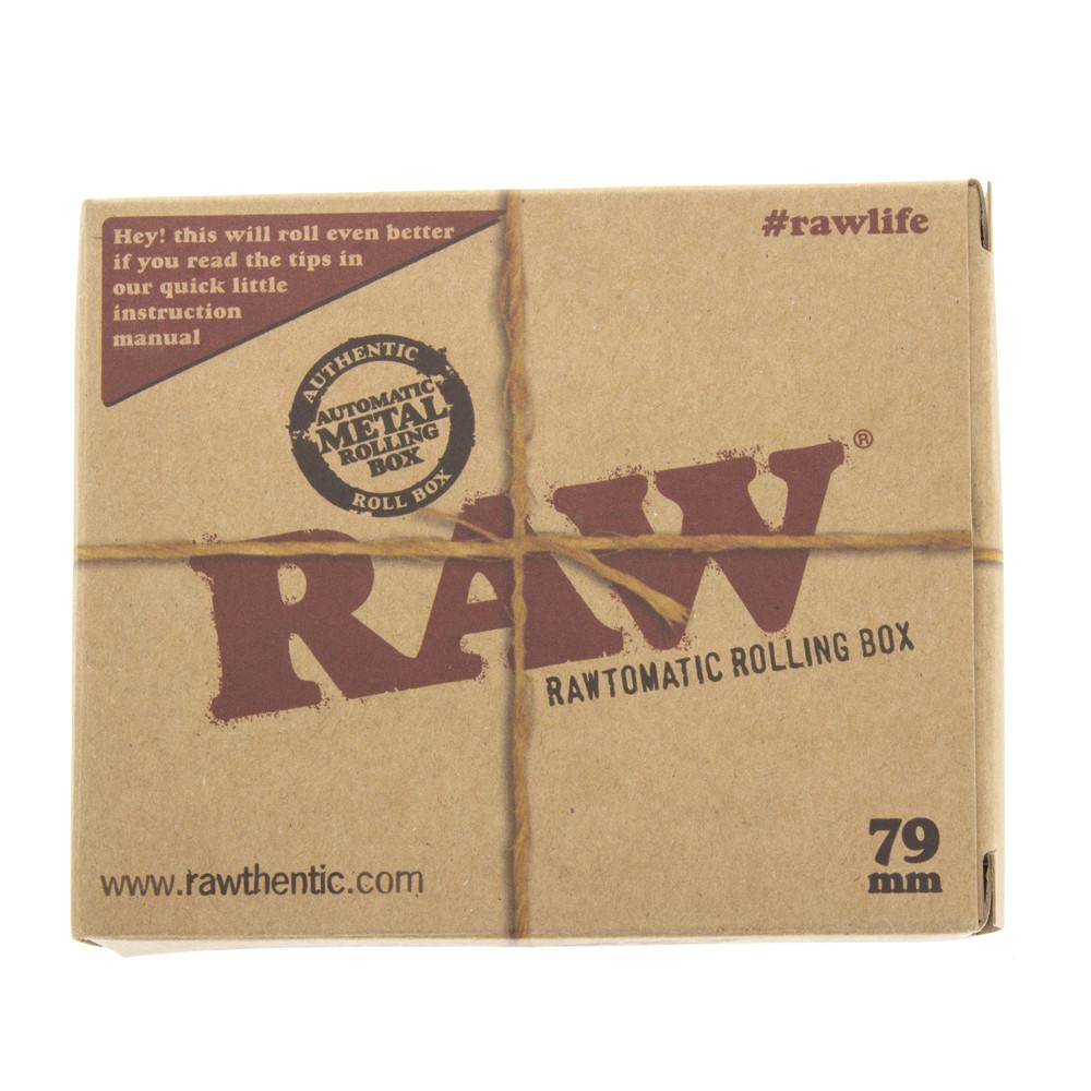 Boxed Raw auto roll box 79mm.