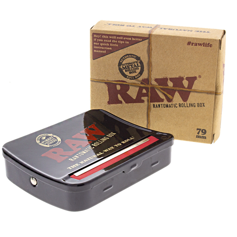 Raw auto box tin joint roller for 79mm papers, box included.