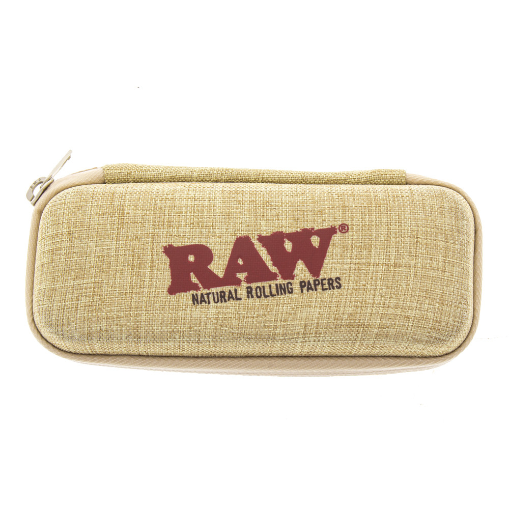 Raw pre rolled cone wallet  zippered carrying case for your papers, lighters and other things you want to stash away.