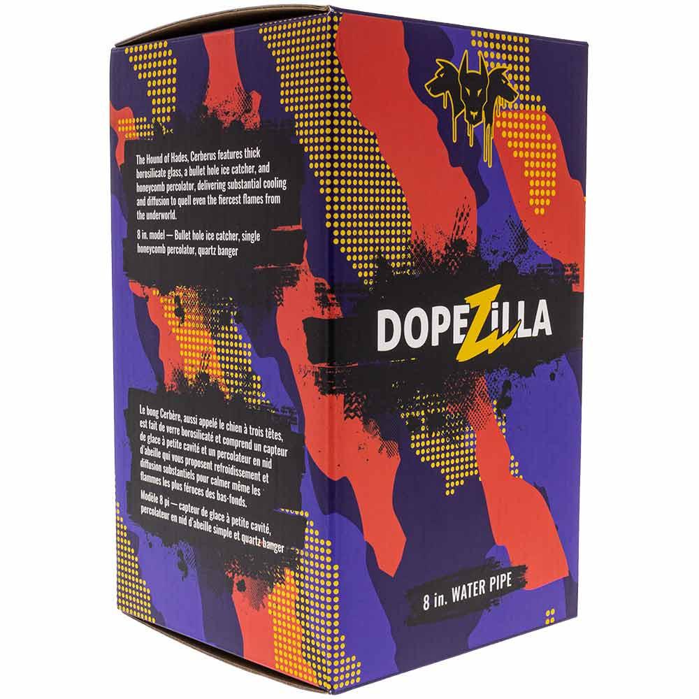 Each Dopezilla Cerberus Rig comes in a colorful display box.
