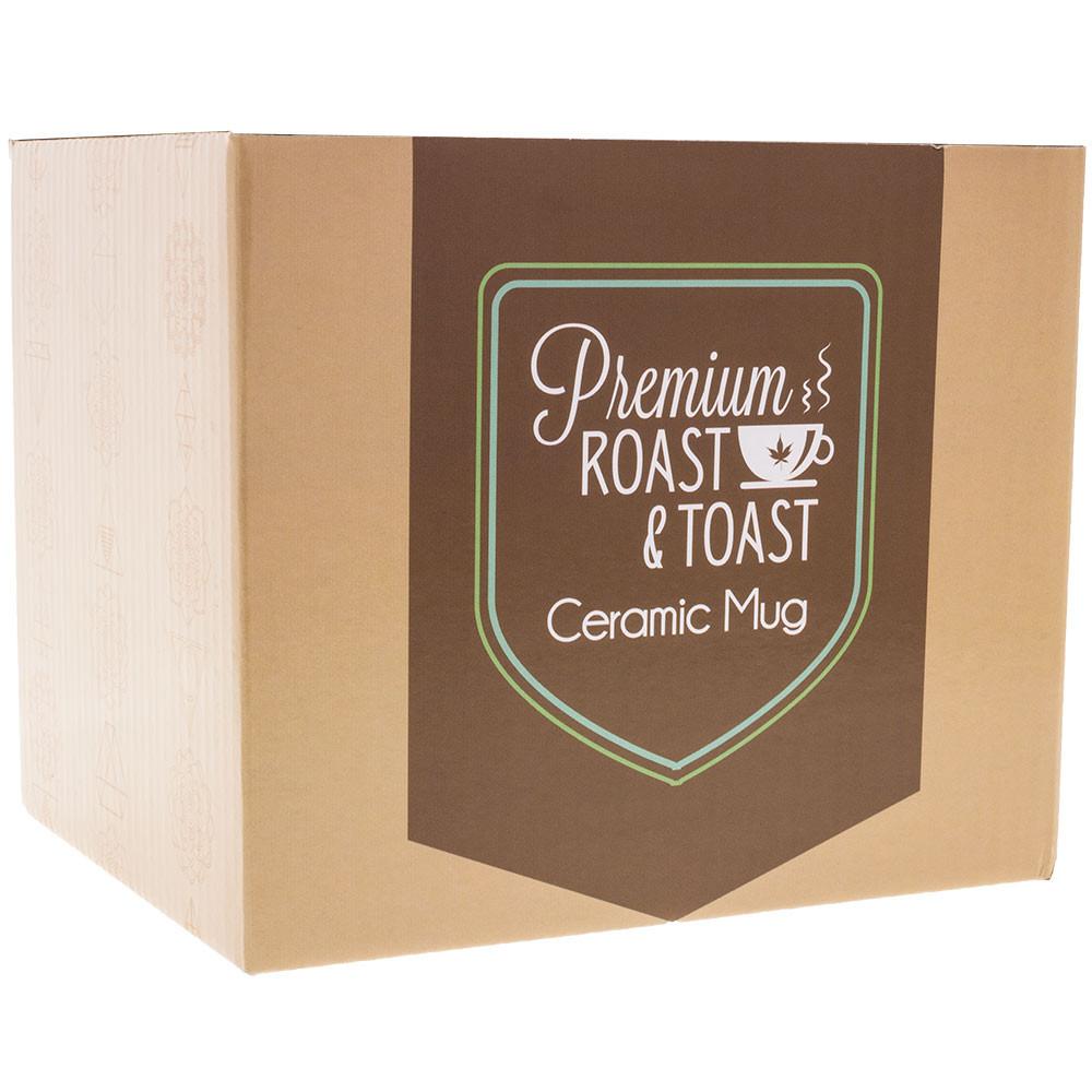 Each Her Royal Highness Pipe Mug comes individually boxed.