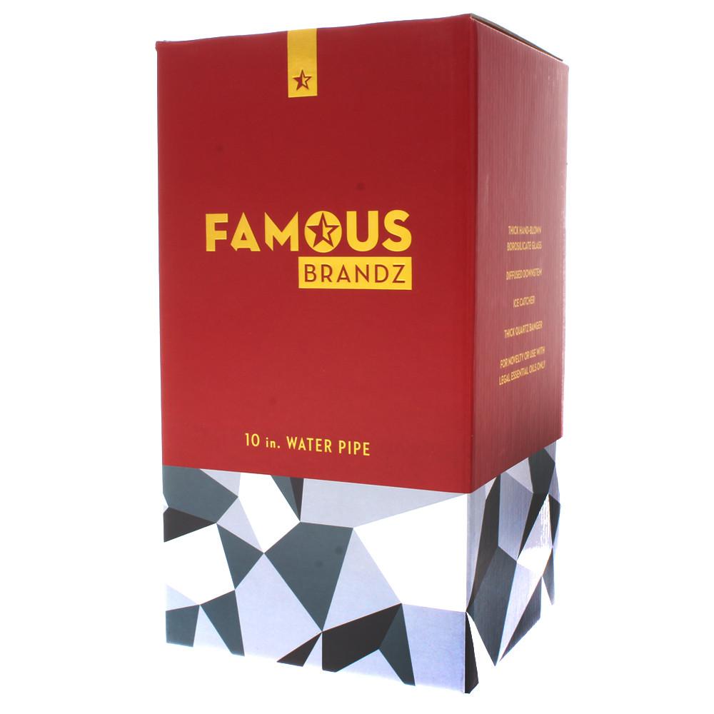 Boxed Famous Brandz Glass Rig, Digital.