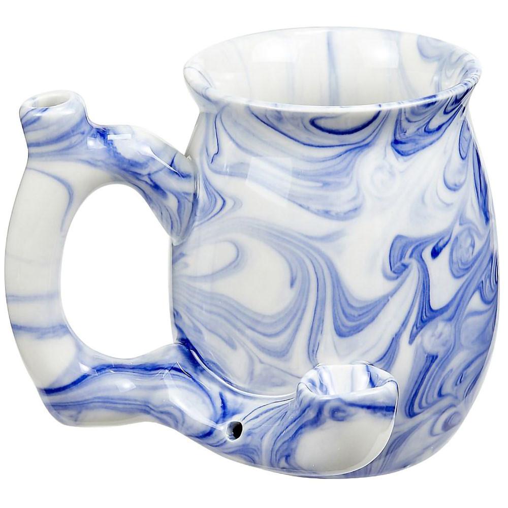 Blue Marble Roast and Toast Mug Pipe