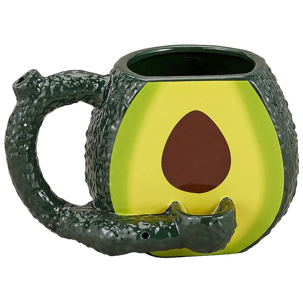 Smoke and sip your tea, coffee or drink of choice in this cool mug pipe.