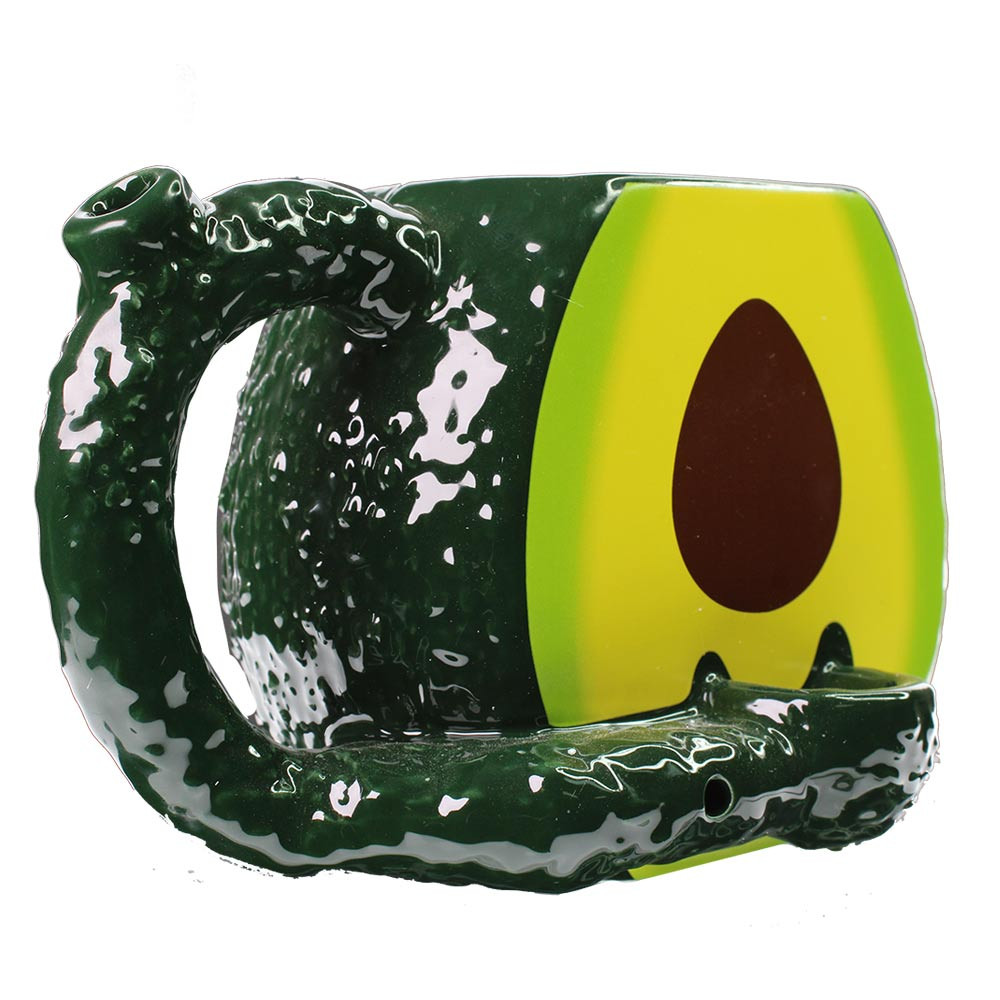 Side view of the coolest mug pipe.
