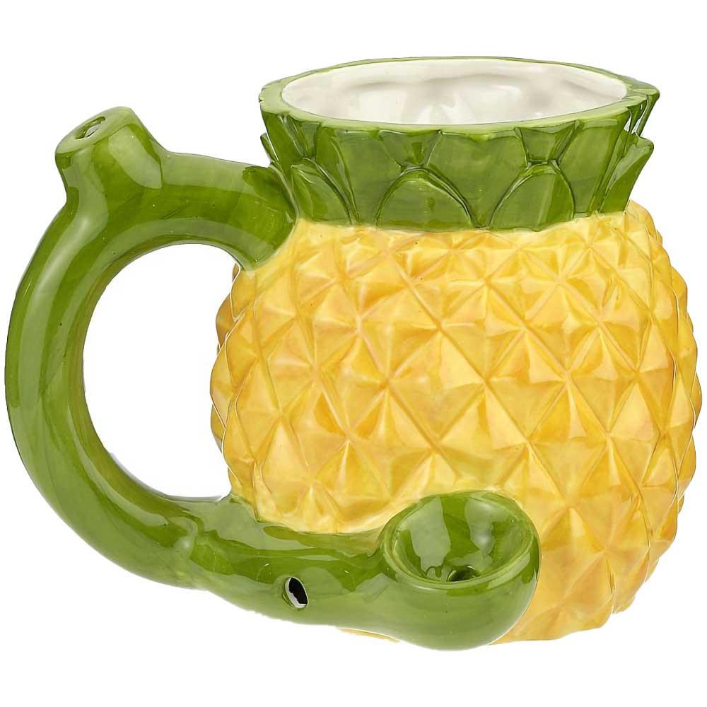 Pineapple Ceramic Coffee Mug Pipe