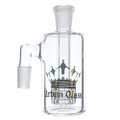 Urban glass 14mm male glass on glass 90 degree ash catcher with matrix perc