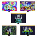 Rick & Morty Stash Box with Matching Airtight Jar & Grinder box assorted styles. 5 Styles shown.