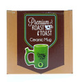 Roast & Toast Coffee Mug black coffee mug box